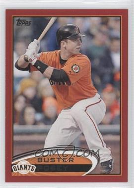 2012 Topps - [Base] - Target Red Border #398 - Buster Posey