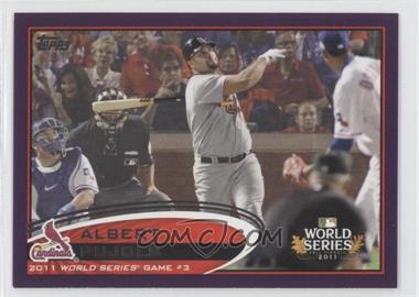 2012 Topps - [Base] - Toys R Us Purple #108 - Albert Pujols