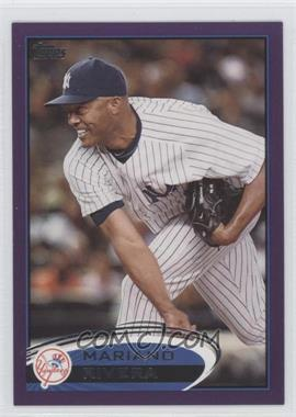 2012 Topps - [Base] - Toys R Us Purple #180 - Mariano Rivera