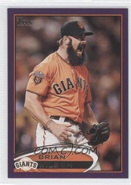 2012 Topps - [Base] - Toys R Us Purple #260 - Brian Wilson