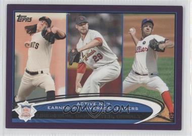 2012 Topps - [Base] - Toys R Us Purple #92 - League Leaders - Tim Lincecum, Roy Oswalt, Chris Carpenter