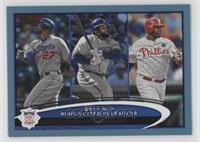 Matt Kemp, Prince Fielder, Ryan Howard
