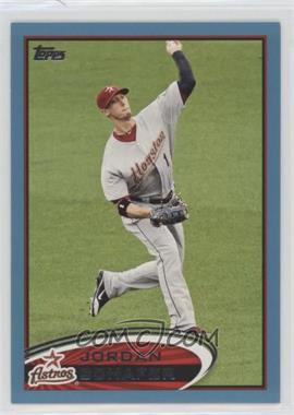 2012 Topps - [Base] - Wal-Mart Blue Border #428 - Jordan Schafer
