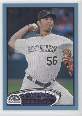 2012 Topps - [Base] - Wal-Mart Blue Border #431 - Guillermo Moscoso
