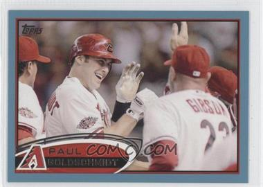2012 Topps - [Base] - Wal-Mart Blue Border #608 - Paul Goldschmidt