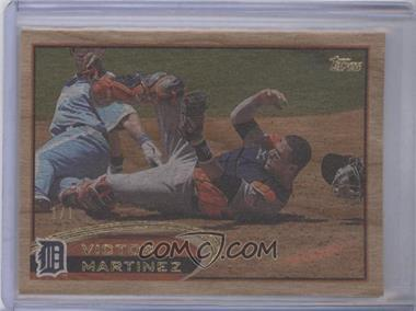 2012 Topps - [Base] - Wood #461 - Victor Martinez /1