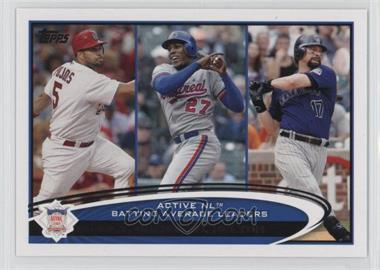 2012 Topps - [Base] #124 - Albert Pujols, Vladimir Guerrero, Todd Helton