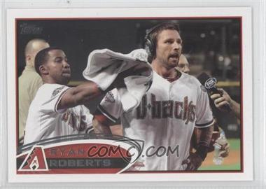 2012 Topps - [Base] #173.2 - Ryan Roberts (Interview)