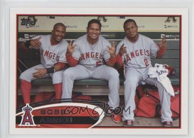 2012 Topps - [Base] #188.2 - Bobby Abreu (In Dugout)