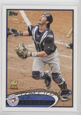 2012 Topps - [Base] #207.1 - J.P. Arencibia (Mask Off)