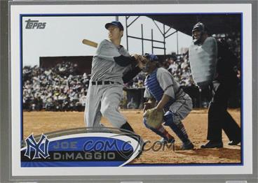 2012 Topps - [Base] #30.3 - Joe DiMaggio (Legend)