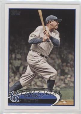 2012 Topps - [Base] #331.4 - Babe Ruth (Legend)