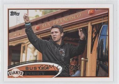 2012 Topps - [Base] #398.2 - Buster Posey (On Railcar)
