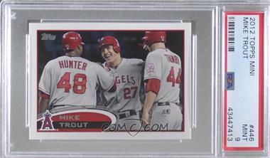 2012 Topps - [Base] #446 - Mike Trout [PSA 9 MINT]