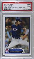 Yu Darvish (Dark Blue Uniform) [PSA 9 MINT]