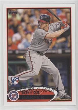 2012 Topps - [Base] #661.1 - Bryce Harper (Grey Jersey)