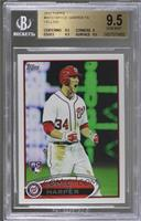 Bryce Harper (White Jersey, Excited) [BGS 9.5 GEM MINT]
