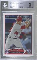 Bryce Harper (Batting, #34 showing) [BGS 9 MINT]