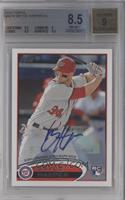Bryce Harper (Autograph - Batting, #34 showing) [BGS 8.5]