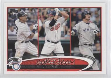 2012 Topps - [Base] #91 - Jim Thome, Jason Giambi, Alex Rodriguez
