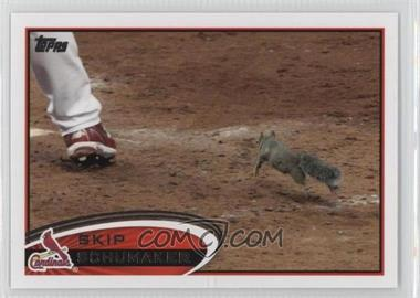 2012 Topps - [Base] #93.2 - Skip Schumaker (Rally Squirrel) - Courtesy of COMC.com