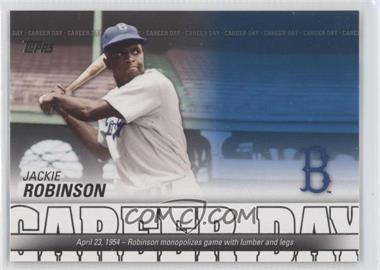 2012 Topps - Career Day #CD-19 - Jackie Robinson