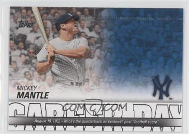 2012 Topps - Career Day #CD-22 - Mickey Mantle