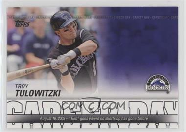 2012 Topps - Career Day #CD-24 - Troy Tulowitzki