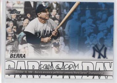2012 Topps - Career Day #CD-25 - Yogi Berra