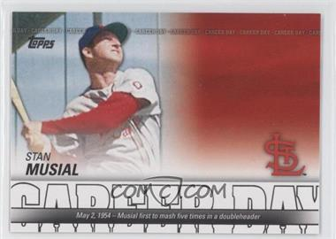 2012 Topps - Career Day #CD-4 - Stan Musial