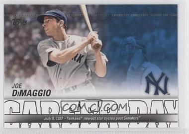 2012 Topps - Career Day #CD-6 - Joe DiMaggio