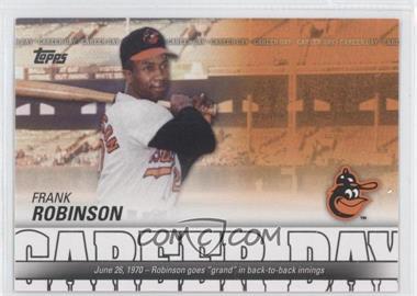 2012 Topps - Career Day #CD-7 - Frank Robinson