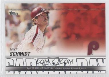 2012 Topps - Career Day #CD-8 - Mike Schmidt