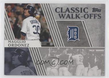 2012 Topps - Classic Walk-Offs #CW-11 - Magglio Ordonez