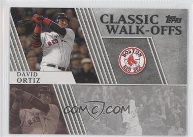 2012 Topps - Classic Walk-Offs #CW-14 - David Ortiz