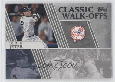 2012 Topps - Classic Walk-Offs #CW-15 - Derek Jeter