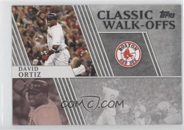 2012 Topps - Classic Walk-Offs #CW-4 - David Ortiz
