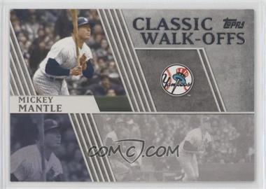 2012 Topps - Classic Walk-Offs #CW-7 - Mickey Mantle