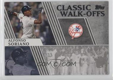 2012 Topps - Classic Walk-Offs #CW-8 - Alfonso Soriano