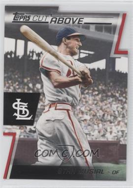 2012 Topps - Cut Above #ACA-12 - Stan Musial