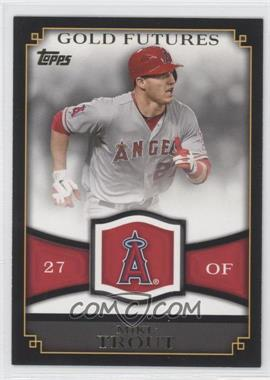 2012 Topps - Gold Futures #GF-16 - Mike Trout