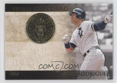 2012 Topps - Gold Standard #GS-13 - Alex Rodriguez
