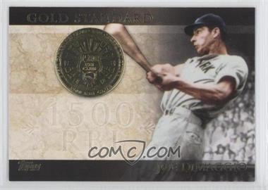 2012 Topps - Gold Standard #GS-18 - Joe DiMaggio