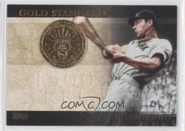 2012 Topps - Gold Standard #GS-18 - Joe DiMaggio