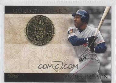 2012 Topps - Gold Standard #GS-19 - Andre Dawson