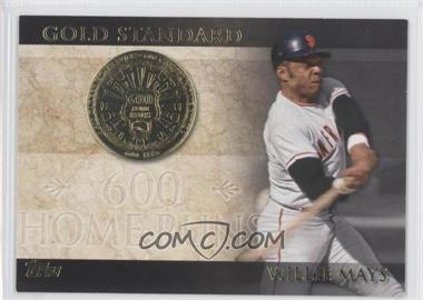 2012 Topps - Gold Standard #GS-25 - Willie Mays