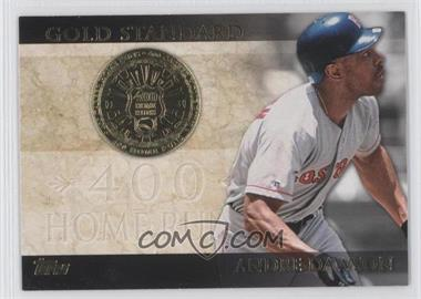 2012 Topps - Gold Standard #GS-26 - Andre Dawson