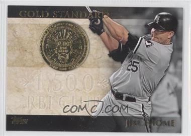 2012 Topps - Gold Standard #GS-27 - Jim Thome