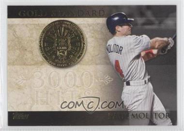 2012 Topps - Gold Standard #GS-3 - Paul Molitor