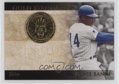 2012 Topps - Gold Standard #GS-32 - Ernie Banks